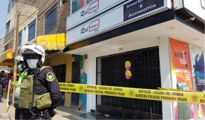 Malditos asesinaron a dueño de local que se resistió a robo