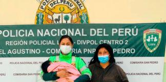 Rescatan a bebé raptada por su tía de 15 años