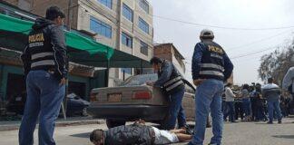Policía frenó a falsos colectiveros que secuestraron a pasajero