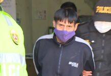 Danmer Joel Bardales Chiclote (27), agresor en libertad.