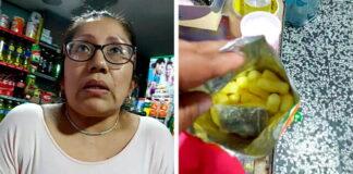 Mujer usaba su tiendita para vender droga en chizitos