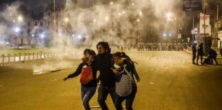 """Manifestantes denunciaron que tuvieron una """"emboscada"""""""