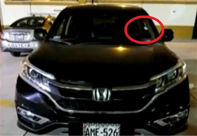 Conductor fue baleado hasta la muerte dentro de su vehículo