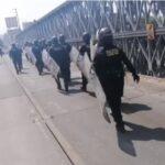 PNP movilizó 700 efectivos para controlar los paros