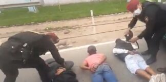 Venecos asaltaban a pasajeros de buses