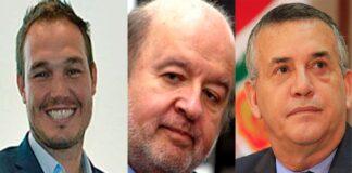 Tres candidatos presidenciales en manos del JNE