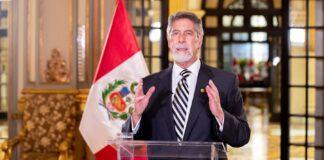 Presidente Francisco Sagasti anunció hoy que se ha concretado la compra de un primer lote de vacunas contra la COVID-19