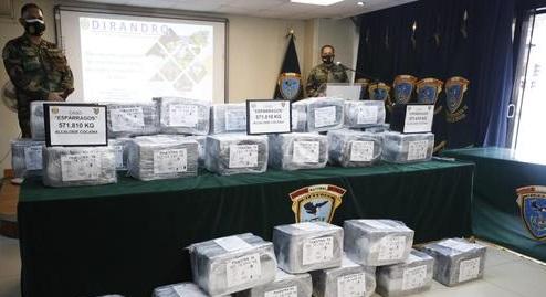 Frenan envío de 571 kilos de cocaína a Francia