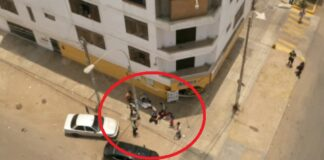 Venezolanos fueron correteados tras asaltar en minimarket