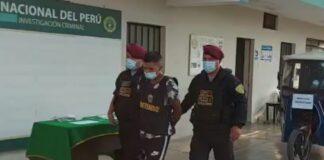 Raquetero termina herido tras persecución policial