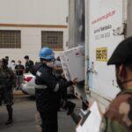 Arrancó vacunación a policías contra la COVID-19