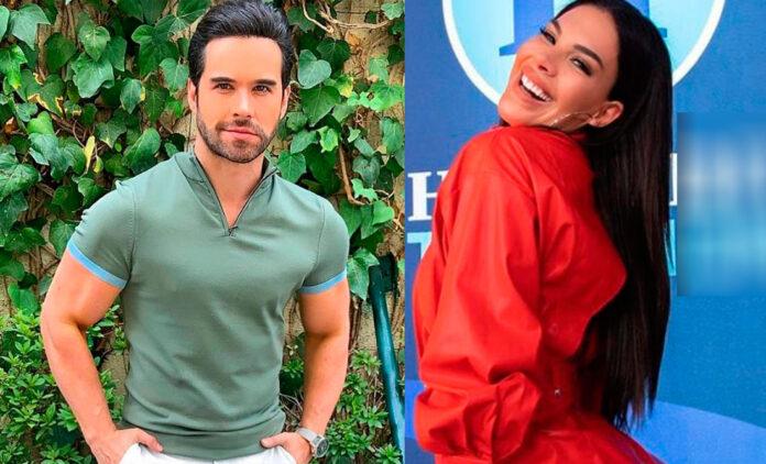 Stephanie Valenzuela y Eleazar Gómez