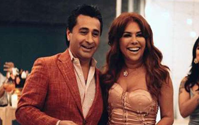Magaly Medina y Alfredo Zambrano