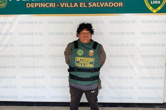 """Nilton Gonzales Barrera (39), más conocido en el mundo del hampa como """"Samurái"""""""