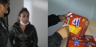 Recuperan más de 7 mil paquetes de galletas contra la anemia