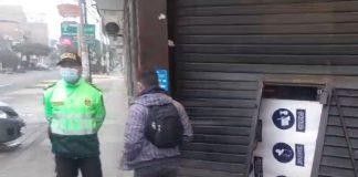 Tres adolescentes robaron pollería en toque de queda