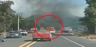 Mexicanos incendiaron vehículos para encubrir narcos