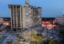 Derrumbe de un edificio deja al menos un muerto y 51 desaparecidos