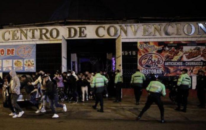Local clandestino armó fiesta para más de 500 personas
