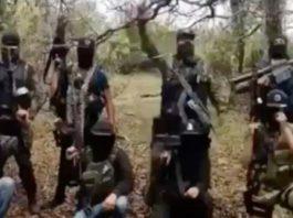 Presuntos miembros del Cártel de Sinaola gritando 'Allahu Akbar'