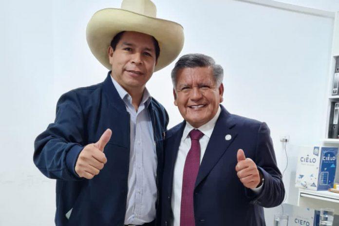 César Acuña y Pedro Castillo