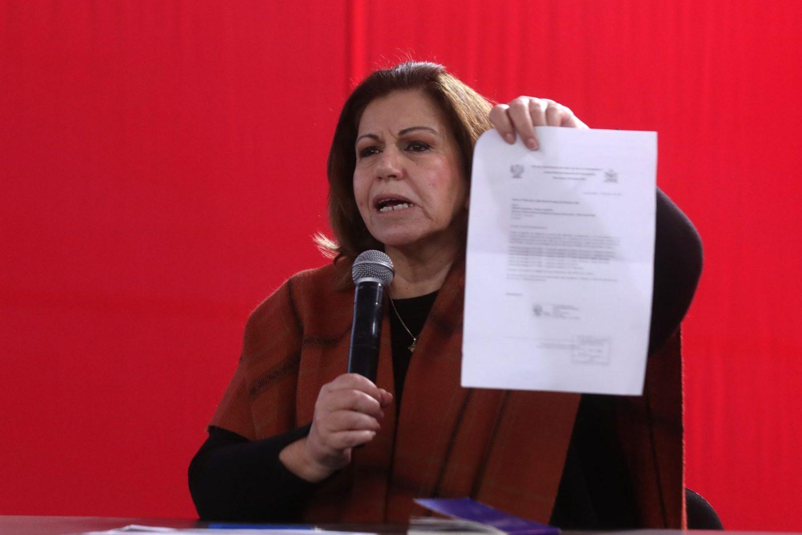 Lourdes Flores presenta recurso de amparo contra el JNE