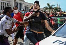 Cuba: renuncia viceministro del Interior por el excesivo uso de la fuerza