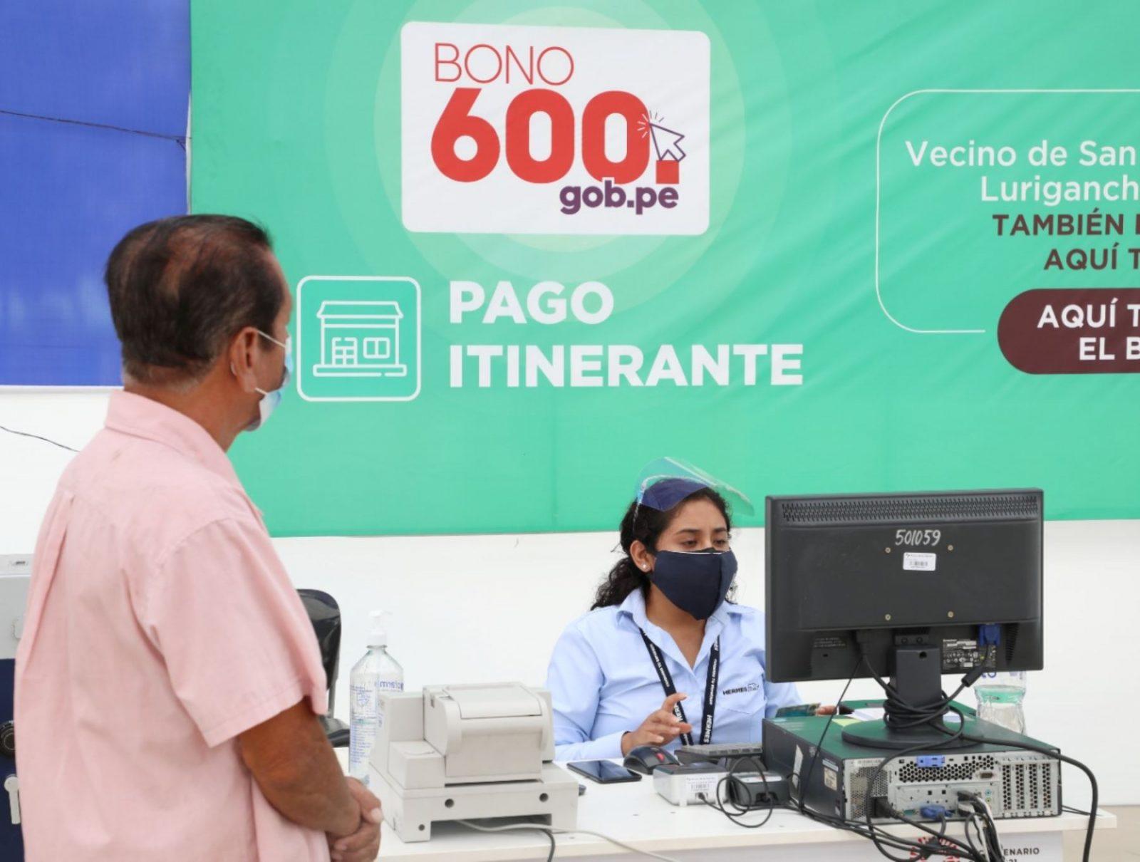 Bono 600: Subsidio se podrá cobrar hasta el 30 de septiembre