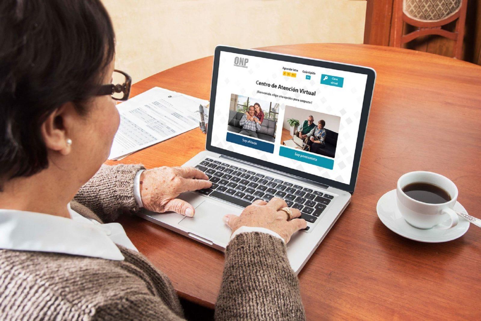 ONP: afiliados pueden solicitar pensión de manera virtual