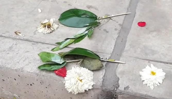 Delincuentes envían granada y flores a empresario de calzado