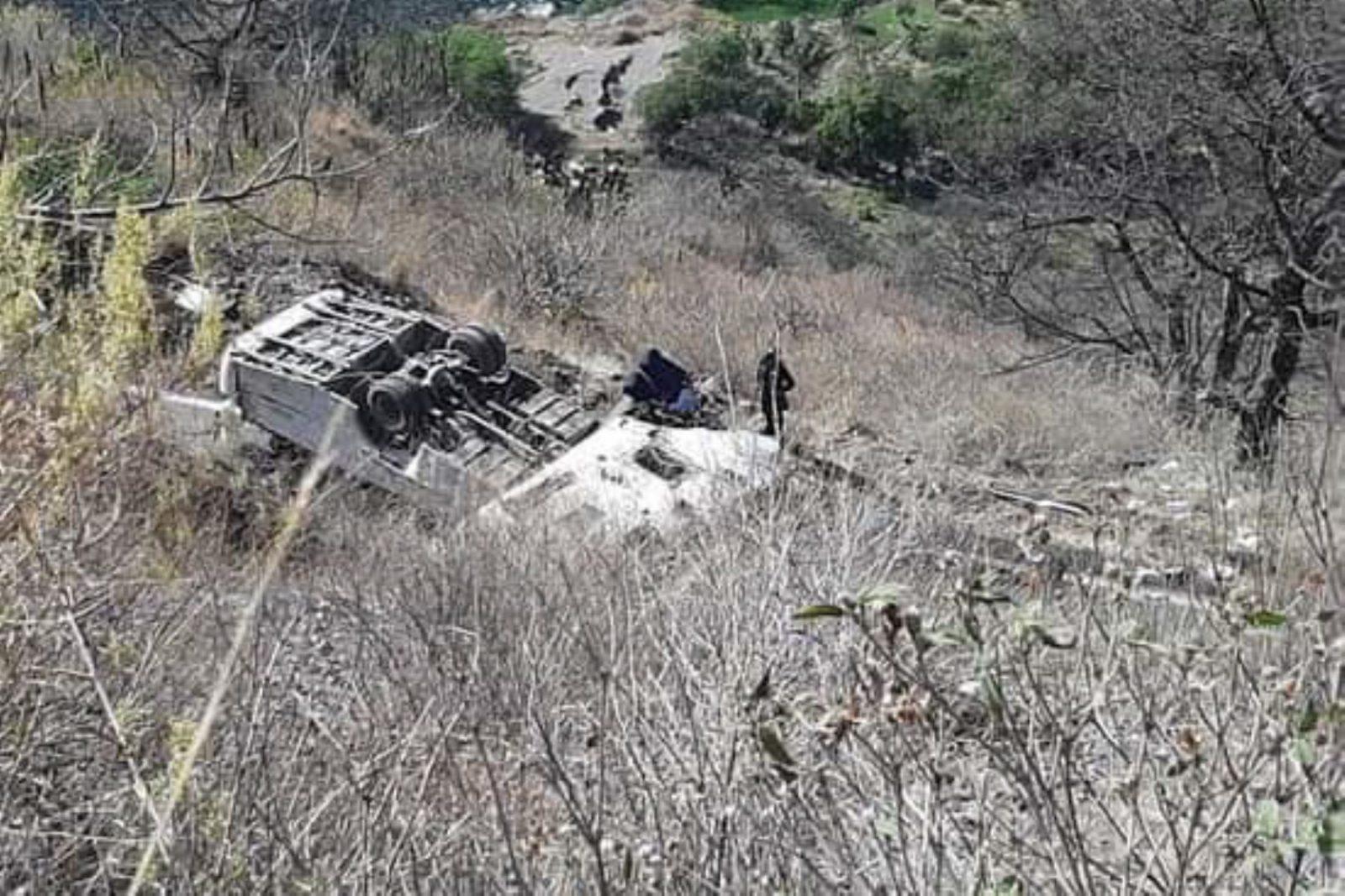 Accidente en Apurímac deja al menos 16 muertos y dos heridos