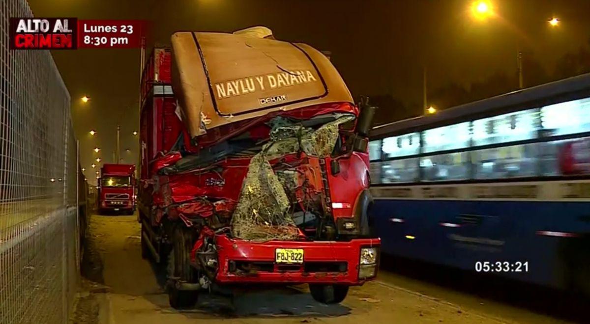 Accidente de tránsito dejó un fallecido en la Panamericana Sur