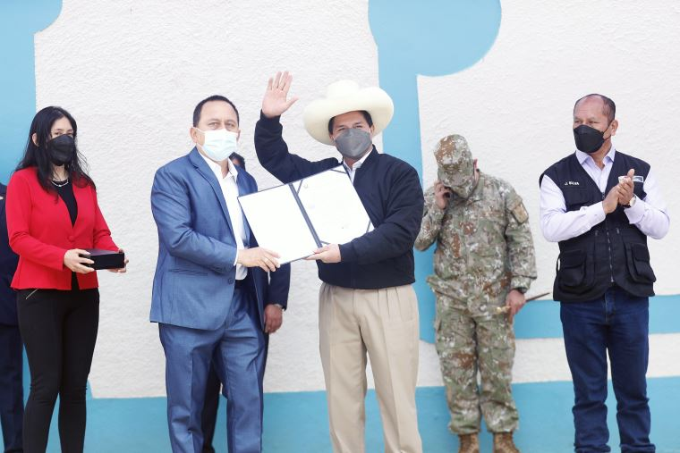Presidente Castillo: rechazamos rotundamente los actos de terrorismo