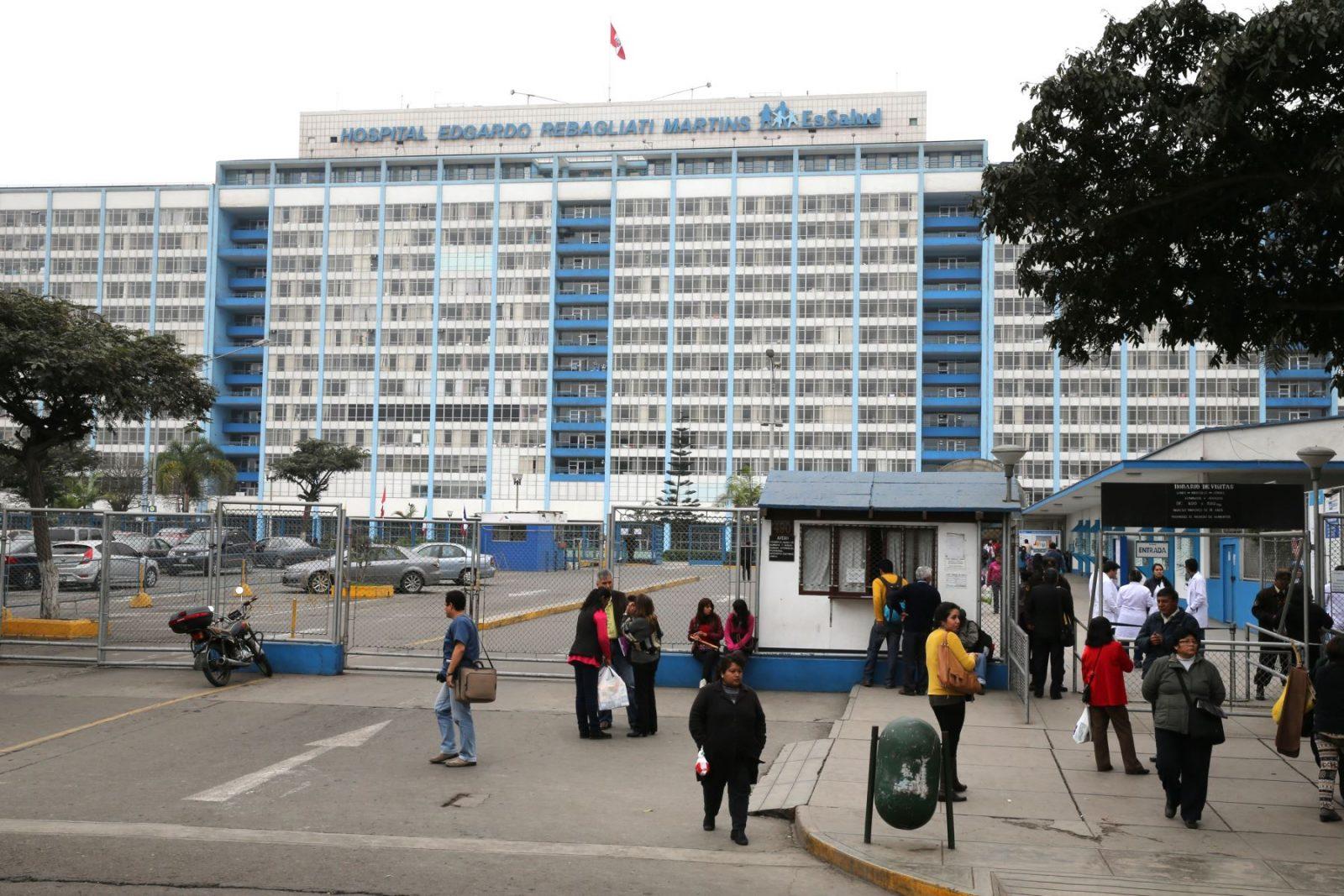 Enfermero es detenido por presunta violación a paciente del hospital Edgardo Rebagliati