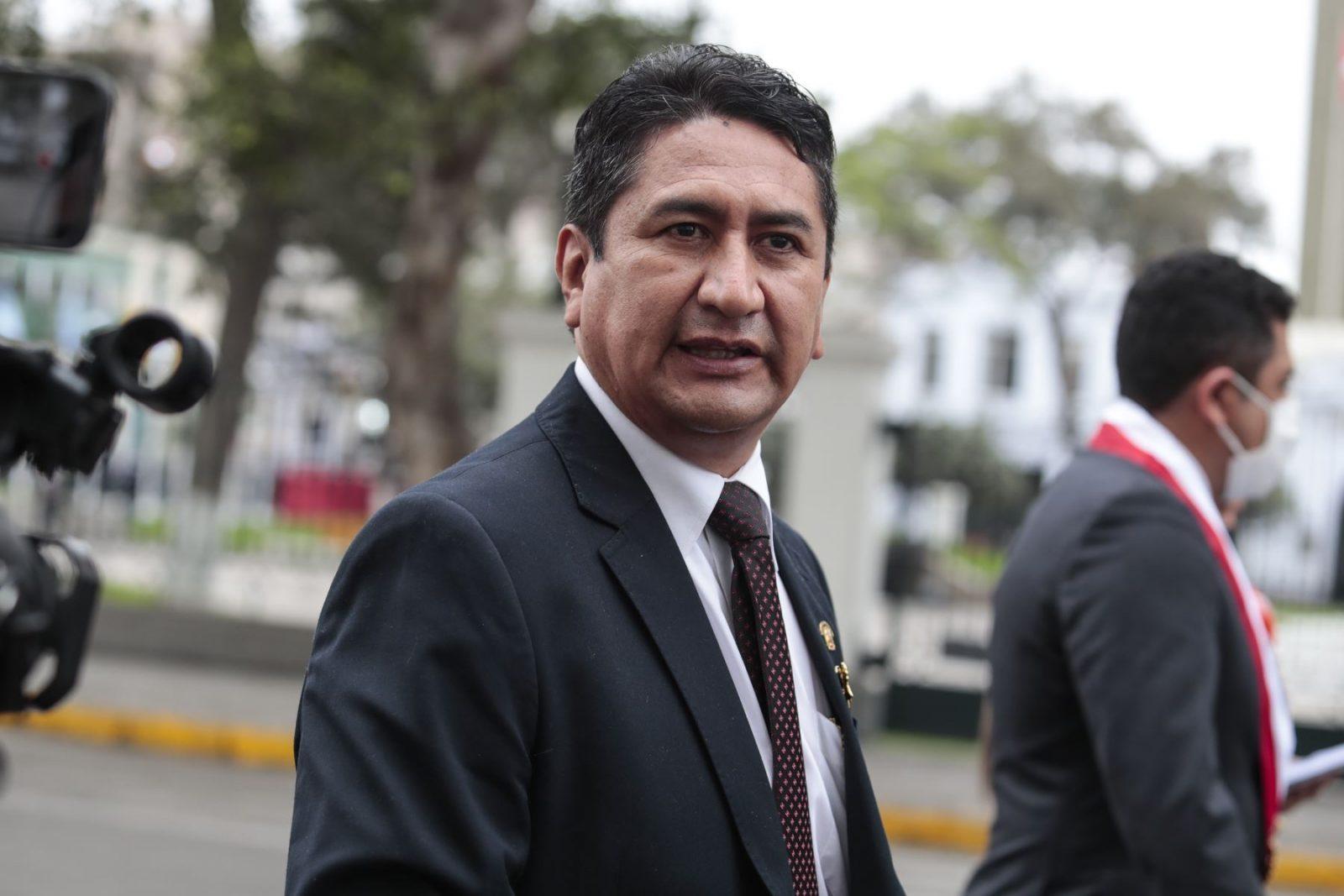 Suspenden juicio contra Vladimir Cerrón hasta el 22 de septiembre