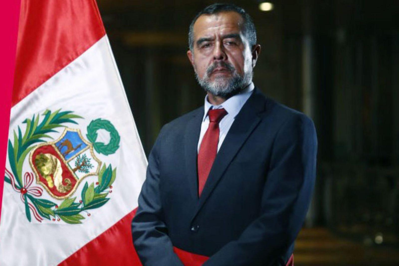 Ministro Iber Maraví declara que no renunciará a su cargo