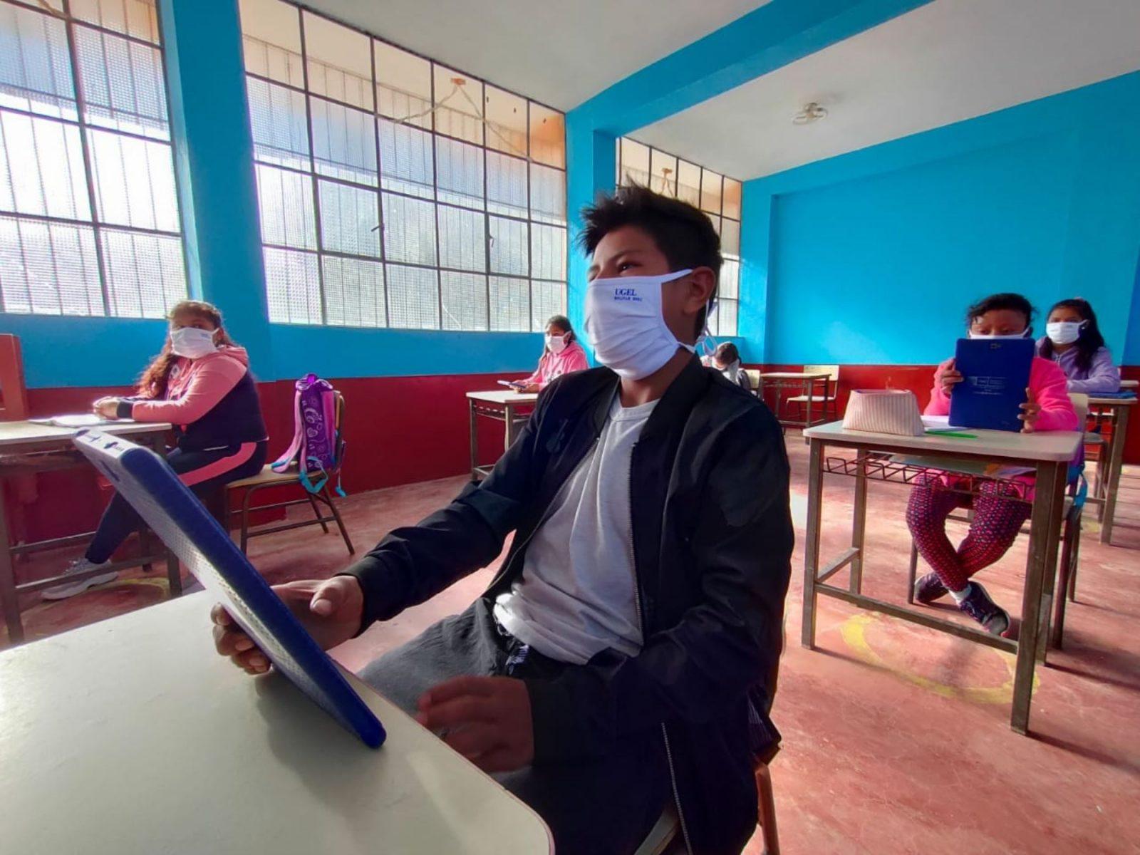 Las clases semipresenciales en Lima iniciarán la próxima semana