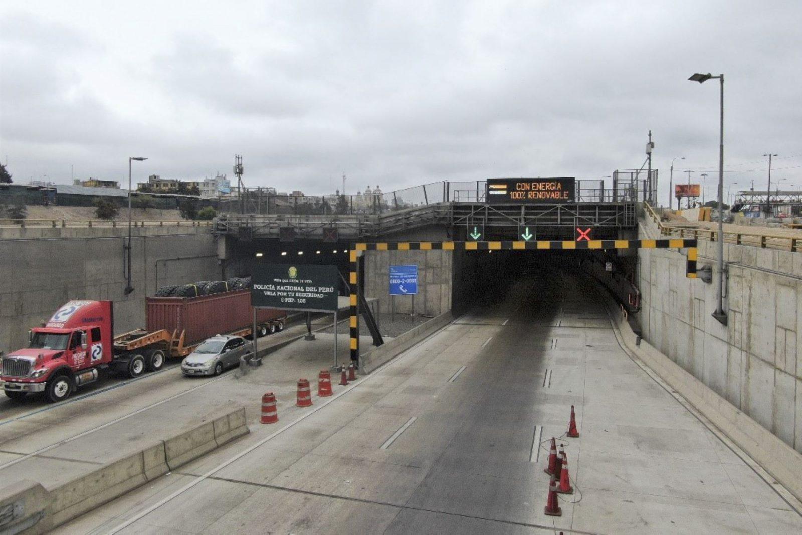 Nuevo túnel de Línea Amarilla opera al 100% con energía renovable