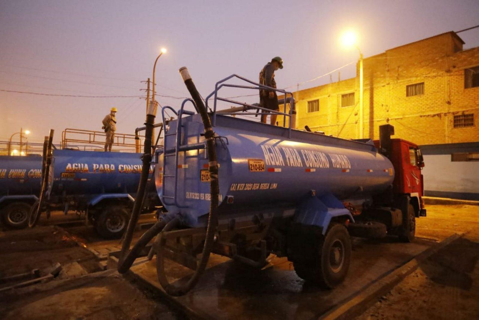 Ministerio de Vivienda controlará reparto de agua gratis en SJL