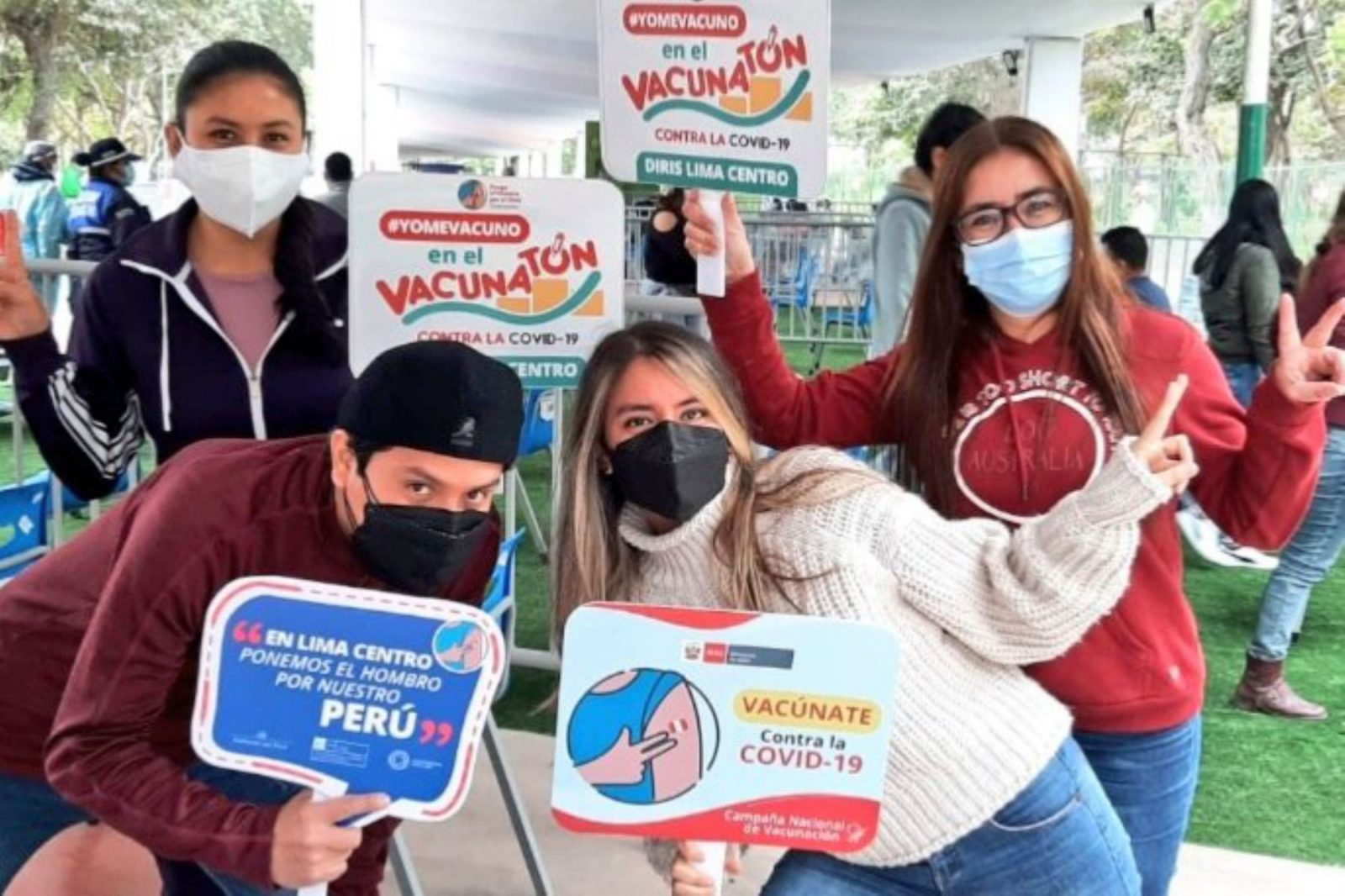 COVID-19: anuncian inmunización a mayores de 27 años