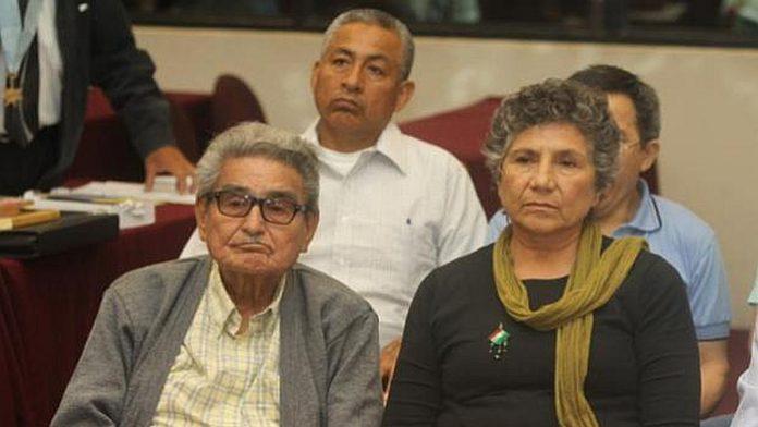 Abimael Guzmán y su esposa Elena Iparraguirre