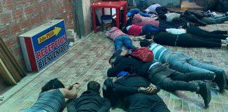 Atrapan a 16 venezolanos con granadas y armas de fuego