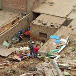 Derrumbe de cerro en Chorrillos sepultó a dos adultas mayores