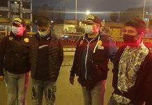 Caen 4 sujetos que asaltaban en estaciones del Metropolitano