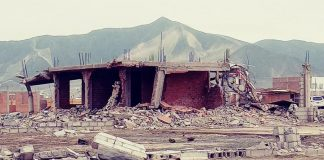 Máquinas desalojaron destruyendo viviendas en Chinecas