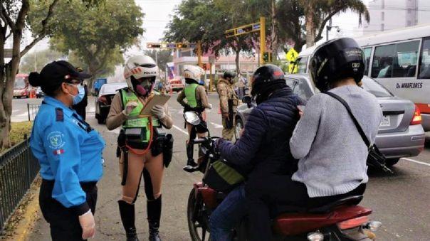 Se debatirá norma sobre uso de motocicletas con uno o más acompañantes