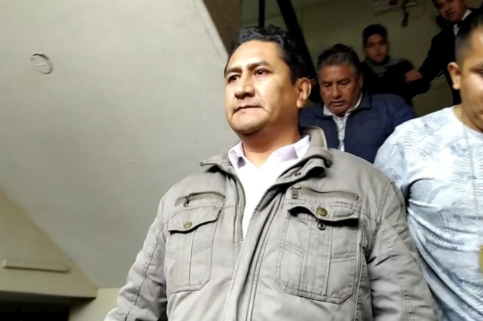 Denuncian penalmente a Vladimir Cerrón