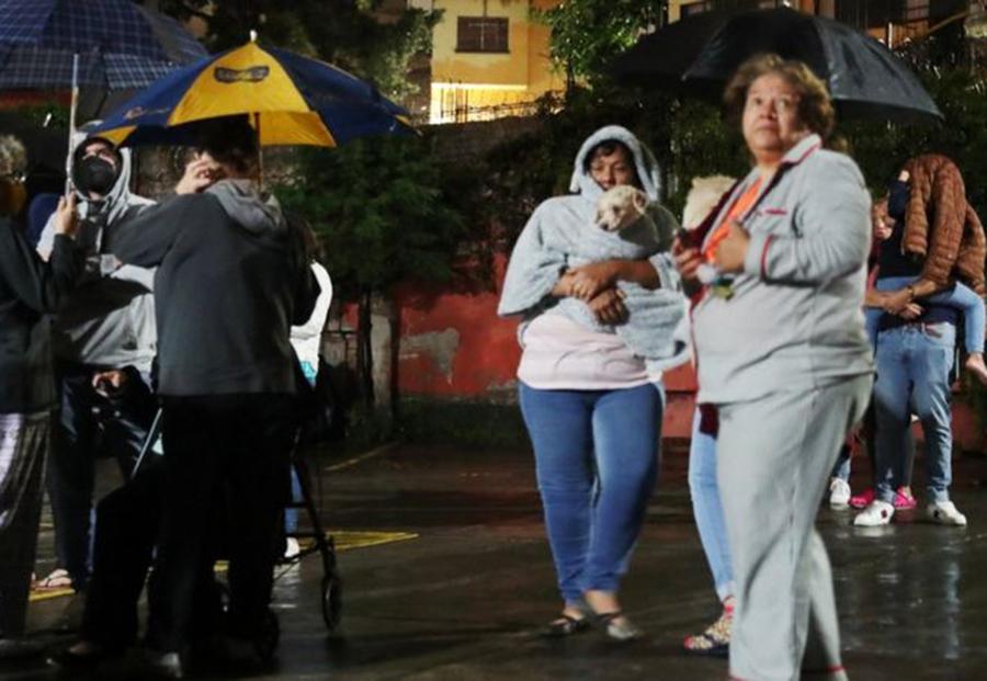 Terremoto de 7.1 causó pánico en México