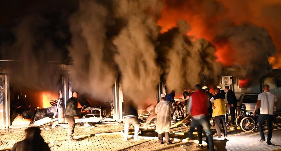 Trágico incendio arrasó al Norte de Macedonia
