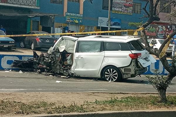 Policía muere tras perder el control de su vehículo